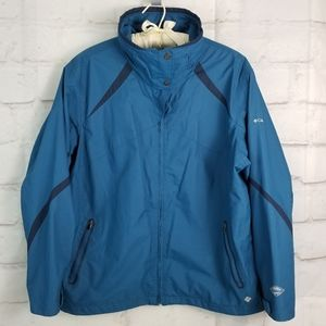 Columbia Bugaboo Ski Jacket 2X Teal Outer Shell